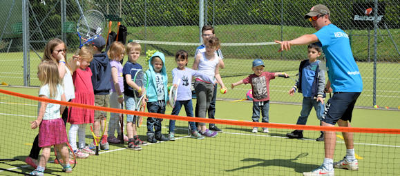 Tennis club for all ages